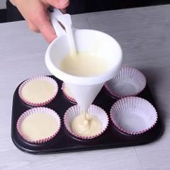 Adjustable Baking Tools Icing Candy Kitchen Funnel Chocolate Pastry Accessories Batter Dispenser Cream Cookie Cupcake Pancake
