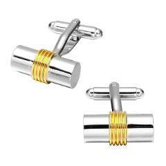 Memolissa Trendy Men's Shirt Cufflinks Gold Silver 18 Choice Square / Round / Knot / Cylinder / Fish Design High-grade Cufflinks