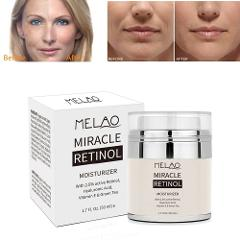 MELAO Retinol 2.5% Moisturizer Cream Anti Aging and Reduces Wrinkles and Fine Lines Day and Night Retinol Cream Drop shipping
