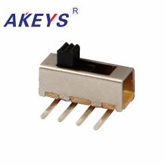 20PCS SS-13F16 1P3T Single pole three throw 3 Position slide switch DIP 4 pin verticle type bend pin
