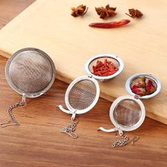 3 Sizes Stainless Steel Tea Infuser Sphere Locking Spice Tea Ball Strainer Mesh Infuser Tea Filter Strainers Kitchen Tools
