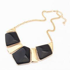 Hot Sale Fashion Women's Crystal Statement Bib Necklace Pendant NECK-03 Jewelry