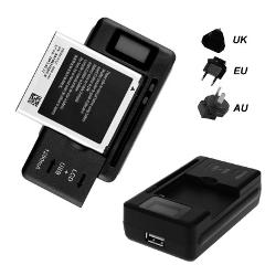 2019 New Mobile Universal Battery Charger LCD Indicator Screen For Cell Phones USB-Port Hot Promotion Wholesale