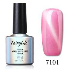FairyGlo 10ML Nail Gel Varnish UV LED Cat Eye Gel Nail Polish Magnet Hybrid Varnish Lucky Lacquer Gel Stamping Primer Base Top
