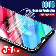 3-1PCS 100D Full Hydrogel Film For Xiaomi mi 8 9 SE Pro Lite A1 A2 A3 Lite CC9 CC9T Pocophone F1 Scree Protective Film Not Glass