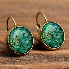 Fashion Boho Drop Earrings For Women Ethnic Hanging Pendientes Gold Silver Round Dangle Earrings Female Mujer Jewelry
