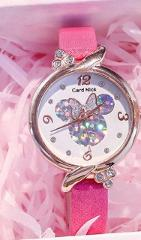 NEW Disney Minnie Mouse Kids Watch Mickey Minnie Mouse Anime Figure Children Kawaii Quartz Watches for Girls fashion Gifts Toys