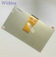 "Witblue New LCD Display Matrix For 7"" Silver Line SL729 TABLET LCD Display 1024x600 Screen Module Panel Glass Replacement"