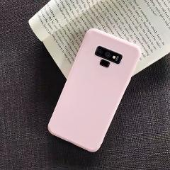 Candy Color Silicone Phone Case For Samsung Galaxy Note 9 8 10 Plus S10 S9 S8 Plus S10e S6 S7 Edge Tpu Soft Matte Slim Coque S8