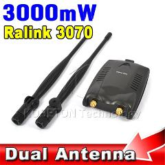 2016 New BT-N9100 Beini USB Wifi Adapter Wireless Network Card Ralink 3070 High Power 3000mW Dual Antenna