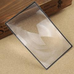 1pcs 180X120mm Flat Book Page Magnifier Sheet Magnification Magnifying Convinient PVC For Reading Glass Lens 3X A5