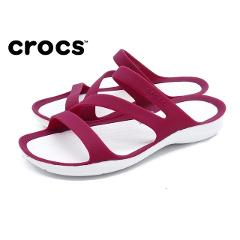 CROCS Bayaband Clog ladies outdoor sandals women classic breathable comfortable sandals pink white sandals beach shoes
