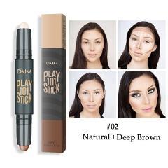 Makeup Base Contour Eyes Concealer Cream Stick Bronzer Cover Dark Circle Highlighter Skin Brighten 2 Colors Make Up Primer