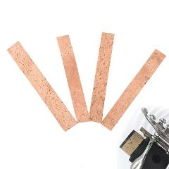 4Pcs/lot Different Size Clarinet Cork Joint Corks Sheets For Saxophones Musical Instruments Accessories Hot