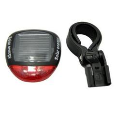Bicycle Taillight Solar Energy LED Cycling Rear Lamp Bike Bicycle Head Front Light Warning Flashlight With Installing Mount Z927