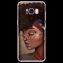 TPU For Samsung Galaxy G360 G530 i9060 Xcover 4 S8 S3 S4 S5 Mini S6 S7 Edge S8 S9 Plus 2bunz Melanin Poppin Aba Black Girl Case