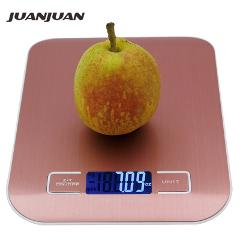10KG 1g Digital Kitchen Stainless Steel Scale Big Food Diet Kitchen Cooking 10000g x 1g Weight Balance Electronic Scales 40% off