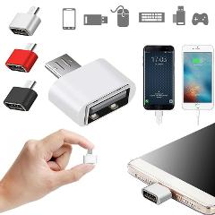 For oppo huawei p20 pro Xiaomi samsung s9 Charging otg micro usb High Speed Android Certified gadget otg type c Cable Adapter