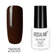 ROSALIND Gel Varnish Nail Polish Set Hybrid All For Manicure 7ML Colors Semi Permanant UV Nail Art Prime Gel Varnish Nail Polish