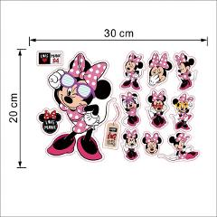 New Cartoon Mickey Minnie Mouse baby home decals wall stickers for kids room baby bedroom wall art nursery removable DIY poster