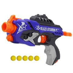 Boy's Toy Gun for NERF Soft Bullet Gun Rival Elite Series Outdoor Fun & Sports Toy Gift for Kids Boys + 5 Ball Bullets