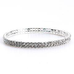 1PC Fashion Bling Pet Dog Cat Necklace Jewelry Rhinestone Collar 3 Sizes Pet Crystal Diamond Elasticity Necklace