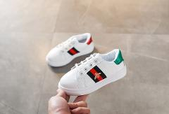 Spring Boys Girls Fashion Sneakers Baby/Toddler/Little/ Kids Leather Trainers Children School Sport Shoes Soft