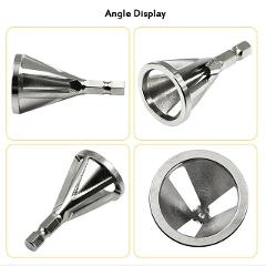 Multifunction Deburring External Chamfer Tool Metal Drills Bit Removing Burrs TooL for all kinds of Chuck Drills