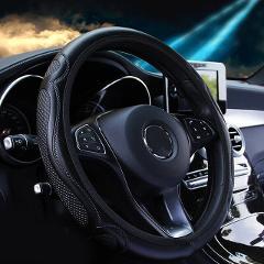 Car Steering Wheel Cover Wear-Resistant Auto Steering Wheel Protector 37-38 Universal  type