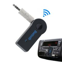 Wireless Bluetooth Car Receiver 4.1 Adapter 3.5mm Jack Audio Transmitter Handsfree Phone Call AUX Music Receiver for Home TV MP3