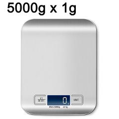 Electric Kitchen Scale Platform with LCD Display Cooking Food Cuisine postal scale Balance cooking tools