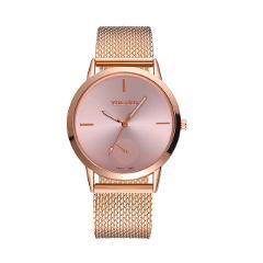 YOLAKO Luxury Brand Women Watches High Hardness Glass Mirror Men And Women General Mesh Belt Woman Wristwatch uhren damen #N03