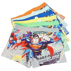 1 pcs 3 to 8 years boys Underpant children Underwear cartoon Boxers Underpants super hero figure Panties kids briefs Underwear