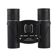 40x22 Field Glasses HD Mini Telescope Portable 40 Times Binocle Binoculars Black Outdoor Travel