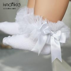 Lace Floral Baby Socks 0-6 Years Toddlers Infants Cotton Ankle Bow-knot Socks Baby Girls Princess Cute Socks