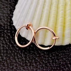 Stealth Clip Earrings Hook without piercing Fashion Jewelry For Women Men NO Hole Clip Earrings ear cuff nose navel clips folder