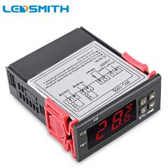 LEDSMITH LED Digital Temperature Controller STC-1000 12V 24V 220V Thermoregulator thermostat Heater And Cooler Control
