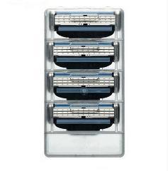 4pcs Men's Face Shaving Razor Refills Cartridge Blades Shaver 3 Layer ca