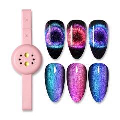 BORN PRETTY 6ml Gel Nail Polish Magnetic Cat Eye Effect UV Gel Glamorous Chameleon Gel Lacquer Soak Off UV LED Varnish