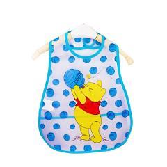 Adjustable Baby Bibs EVA Waterproof Lunch Feeding Bibs Baby Cartoon Feeding Cloth Children Baby Apron Babador Bandana