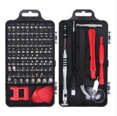 Vastar 115 in 1 Screwdriver Set Mini Electric Precision Screwdriver for Iphone Huawei Tablet Ipad Home tool set