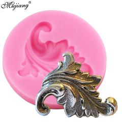 Scroll Relief Leaf Cake Border Silicone Mold Fondant Chocolate Candy Gumpaste Mold Cupcake Cookie Baking Cake Decorating Tools