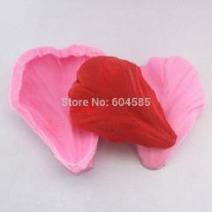 tulip flower petal shape mold clay mould fondant cake molds soap chocolate mould for the kitchen baking   FM223