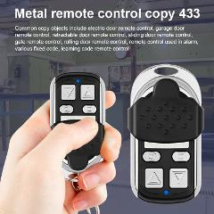 433MHZ Metal Copy Came Remote Control for Garage Car Home Gate Sliding Door