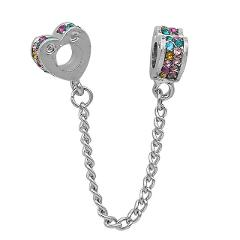 Free Shipping Crystal Clip Stopper Bead fit Original Pandora charms silver 925 Bracelet trinket jewelry for Women Man making