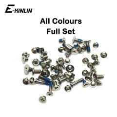 High Quality Complete Full Screws Screw Set For iPhone 4 4S 5 5S SE 5C With Plug Bottom Dock Replacement Parts