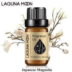 Lagunamoon  Japanese Magnolia 10ml Fragrance Oil Orange Blossom Peach Passion Fruit Pineapple Plant Oil Aromatherapy Diffusers