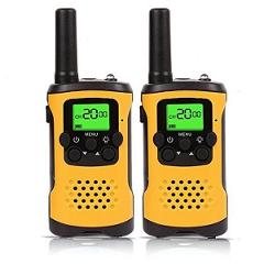 Two Way Radio Mini Walkie Talkie for Kids Child Walkie-Talkie CD Radio Vhf Comunicador Flashlight LCD display Children Gift