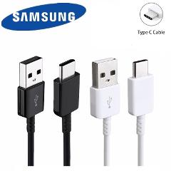 100% Original Samsung galaxy 120cm Charger cable quick fast charge usb 3.1 Type C for S8 s9 Plus note 8 9 A7 A8