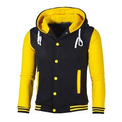 New Mens Hoodies Cool Slim Baseball Jacket Custom Design Stylish student Gift young Hoodie Costume top Coat fashion clothes